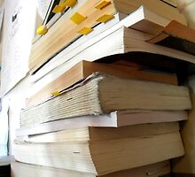 Book Stack by jessicacbarker