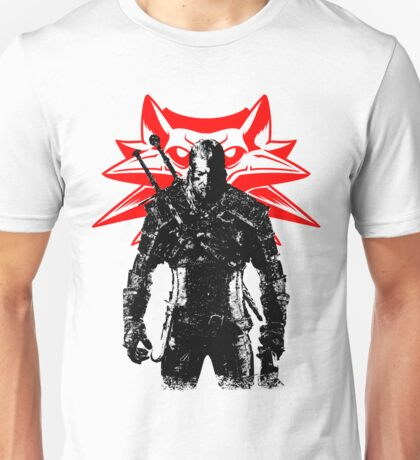 The White wolf Unisex T-Shirt