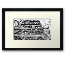 Stairway of Time Framed Print