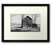 Back of the Barn Framed Print