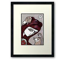 Frida Rosa Framed Print