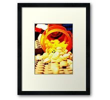 Manufactured Hapiness Framed Print