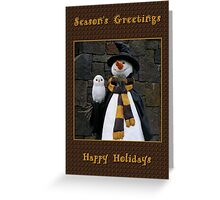 Season's Greetings ~ Part Two Greeting Card