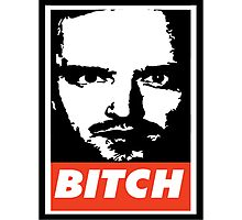 Jesse Pinkman - Obey, bitch Photographic Print
