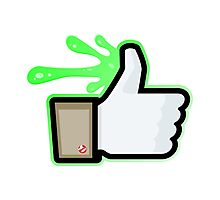 FACEBOOK X GHOSTBUSTERS (GB1 SLIMED) Photographic Print