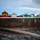 Beach Huts by John Burtoft