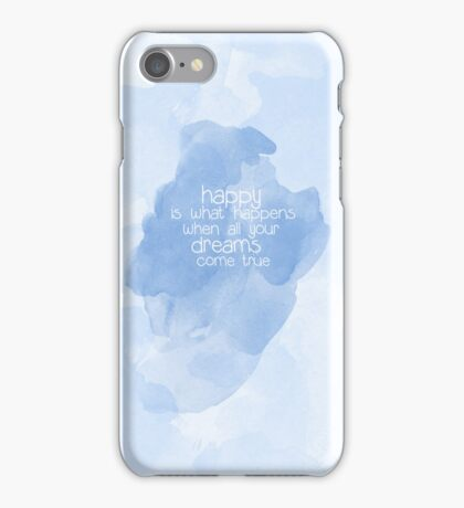 ...We couldn't be happier iPhone Case/Skin