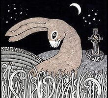 Celtic Hare by Anita Inverarity