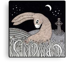 Celtic Hare Canvas Print