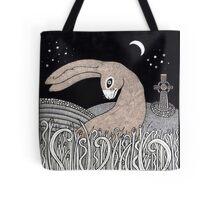 Celtic Hare Tote Bag