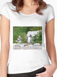 Humboldt Penguin Women's Fitted Scoop T-Shirt