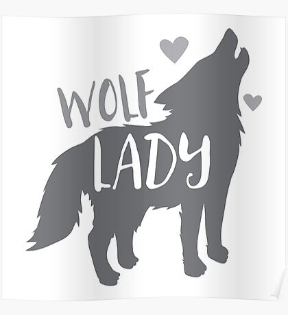 Wolf Lady Poster