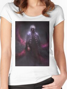 Kaneki Tokyo_ghoul Women's Fitted Scoop T-Shirt