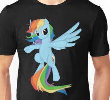 Rainbow Dashing Unisex T-Shirt