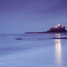 Bamburgh Light by Brian Kerr