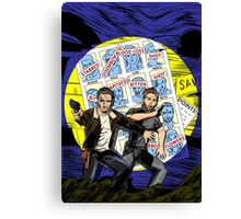 Walking Dead - Days of Futures Past Canvas Print