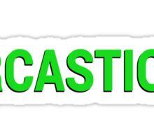 Fallout 4 Sarcastic Dialogue Option Sticker