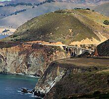Bixby Bridge, Big Sur, CA by Ashlee Taber
