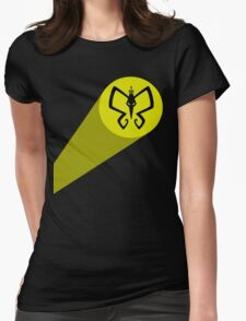 Monarch Signal! Womens Fitted T-Shirt