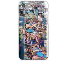 Crowded Beach 2. iPhone Case/Skin