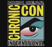 High Gear International Chronic Con - HGICC - Black iCases by Scalawag