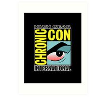 High Gear International Chronic Con - HGICC - Black iCases Art Print