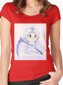 Crossbreed Priscilla Chibi anime Women's Fitted Scoop T-Shirt