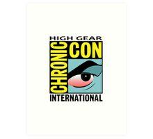 High Gear International Chronic Con - HGICC - White iCASES Art Print