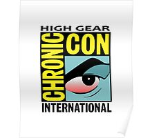 High Gear International Chronic Con - HGICC - White iCASES Poster