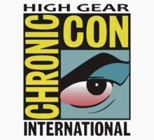 High Gear International Chronic Con - HGICC - White iCASES T-Shirt