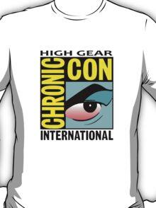 High Gear International Chronic Con - HGICC - White iCASES T-Shirt