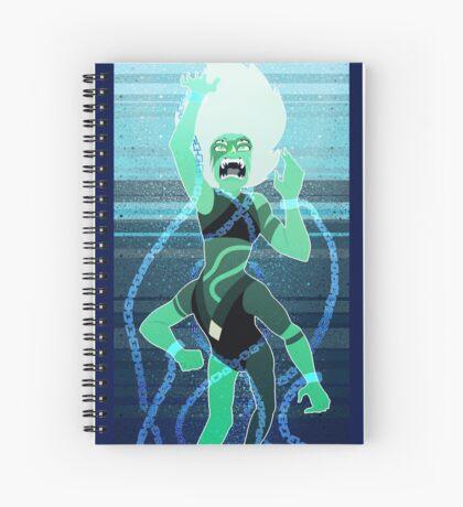 Steven Universe Malachite Spiral Notebook