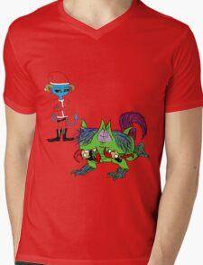 Tisk, Tisk, Little Elf Mens V-Neck T-Shirt