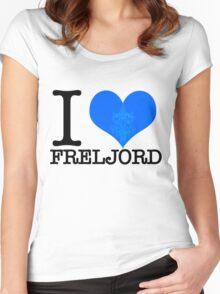 I <3 Freljord Women's Fitted Scoop T-Shirt