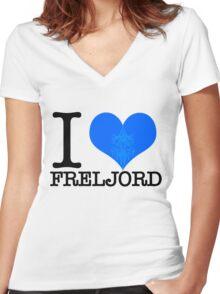 I <3 Freljord Women's Fitted V-Neck T-Shirt