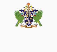 Coat of Arms of Saint Lucia  Unisex T-Shirt