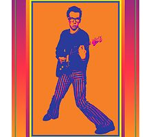 Elvis Costello Poster by retrorebirth