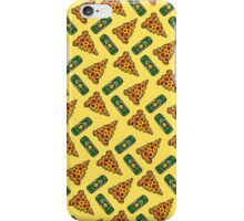 Pizza & Beer Love Pattern iPhone Case/Skin