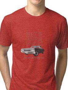 Supernatural: Impala Tri-blend T-Shirt