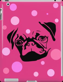 Pink Pug by Sam3161019