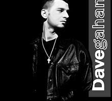 Dave Gahan 1990 by Luc Lambert