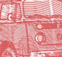 Red Bay Campervan Montage Sticker