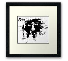 The Fast Show - Black! Framed Print