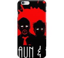 The Adventures of Shaun and Ed iPhone Case/Skin