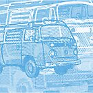 Blue Bay Campervan Montage by Ra12