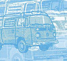 Blue Bay Campervan Montage by Ra12
