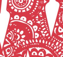 Wisco Doodle Sticker