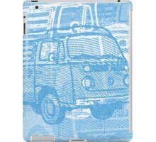 Blue Bay Campervan Montage iPad Case/Skin