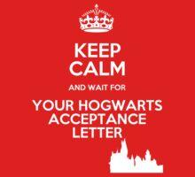 Keep Calm Hogwarts Letter by Félix Croteau