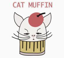 Cat Muffin by TatiDuarte